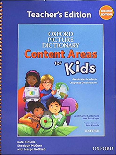 Oxford Picture Dictionary Content Area for Kids Teacher's Edition by Jenni Currie Santamaria