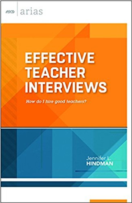 There's a lot at stake when you hire a teacher-including student achievement and the resources involved in finding and retaining teachers. Identify the best applicants every time with this practical advice on the teacher interview process. Teacher hiring expert Jennifer L. Hindman explains how to prepare for and conduct hiring interviews that reliably predict a teacher's success. Her guidance helps you Use proven, research-based interview practices. Avoid questions that are not legally permissible. Assemble and train an interview team. Match candidates' skills to your school's needs. To ensure your hiring practices are based on legally defensible questions and processes, she's included specific guidance, sample questions, and process checklists.