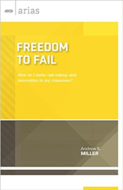 """In Freedom to Fail, veteran educator Andrew K. Miller explains the many benefits of intentionally designing opportunities for students to """"fail forward"""" in the classroom. He provides a raft of strategies for ensuring that students experience small, constructive failures as a means to greater achievement, and offers practical suggestions for ensuring that constructive failure doesn't detrimentally affect students' summative assessments. He also describes how teachers, too, can benefit from failure. Establishing a culture that embraces the freedom to fail helps students to adopt a growth mindset, take risks in the service of greater learning, and develop realistic expectations of what it takes to succeed in the world at large. If we deliberately let our students fail in small ways today, we can help to ensure that they'll triumph in a big way tomorrow."""