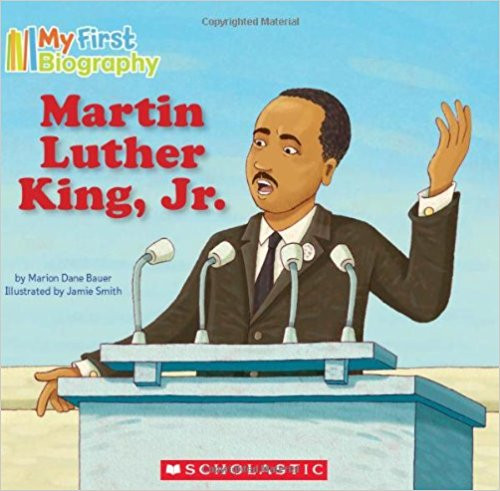 <p>Dr. Martin Luther King Jr. was a great man. His words changed the way people thought, and his actions spurred them on to change the world. With simple, lyrical text and bold, kid-friendly illustrations, this book introduces Dr. King to the youngest readers.</p>