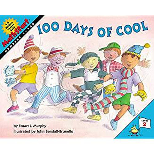 Murphy shows kids that they use math every day--to share a pizza, spend their allowance, and even sort socks. Most classrooms celebrate 100 days of school. But for Mrs. Lopez's class, it's 100 days of cool. Something new and cool is bound to happen every day, all the way from 1 to 100.