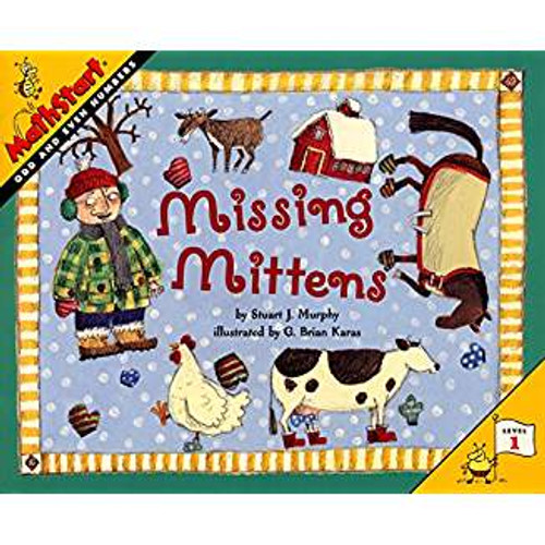 As a farmer tries to find the correct number of mittens for his various farmyard animals, the reader is introduced to odd and even numbers.