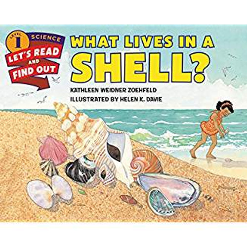 A house is a home for you, a nest is a home for a bird, and a cave is a home for a bear. But for some animals a shell is a home. Snails and turtles and crabs and clams all have shells that act as their homes and protect them from harm. This Level 1 Let's-Read-and-Find-Out picture book is a fascinating exploration of the many creatures that make a home in a shell.
