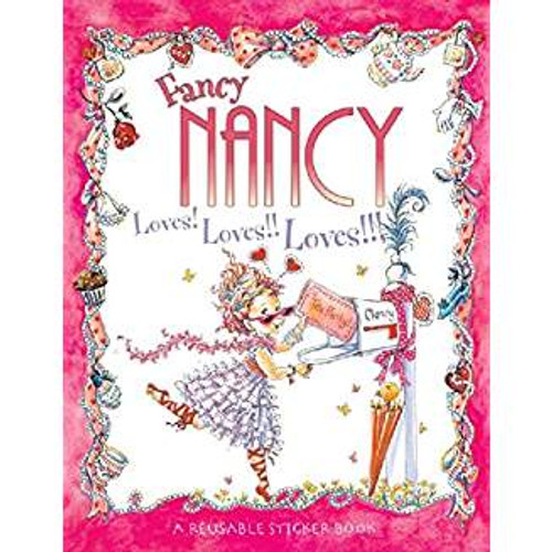 Meet Nancy, who believes that more is always better when it comes to being fancy. From the top of her tiara down to her sparkly studded shoes, Nancy is determined to make everything she and her family do as fancy as possible. With this sticker book, you can help Nancy plan the fanciest tea party ever!