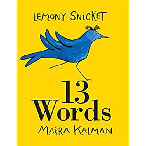 """""""New York Times""""-bestselling author Snicket teams up with a noted artist to present a beautiful adventure woven from a practical introduction to 13 words, including such marvels as Bird, Dog, Panache, and Haberdashery. Full color."""