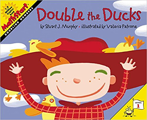 Kids can learn how to double numbers in a fun way with this delightful story of a young boy who's taking care of five little ducks. Full-color illustrations.