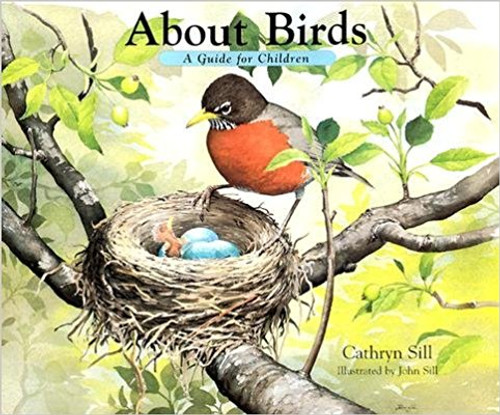 This kid-friendly book offers a first thoughtful glimpse into the world of birds: from eggs to nests, from song to flight. In this delightful book, teacher and birder Cathryn Sill explains to children what birds are, what they do, and how they live