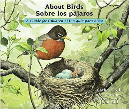 Text and illustrations introduce the world of birds from eggs to flight, from songs to nests.