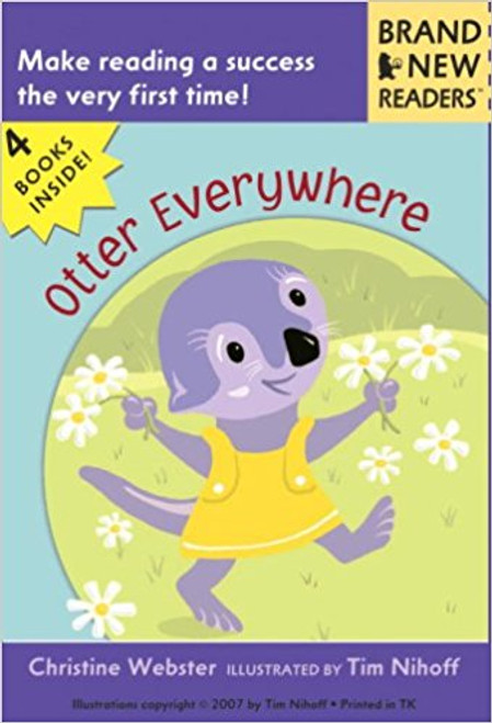 The amiable Otter stars in four funny new stories for first-time readers. Full color.