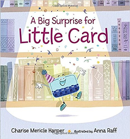 "In the world of cards, each one has a special job to do. Big Card keeps important papers in order. Tiny Card can be exchanged for a prize in an arcade. Round Card hangs out in a glamorous boutique. But is any card as lucky as Little Card? He s going to school to become a birthday card in other words, to sing, play games, eat cake, and be happy all day long. ""But wait! ""On the day he s supposed to take his talents into the world, Long Card tells him there s been a mix-up and they need to trade jobs. How can Little Card bring his exuberance into a library, a quiet place of books and rules and hushing? Offbeat and utterly endearing, this tale of a little guy who gives it all he s got is complete with a sweet twist and a surprise ending"