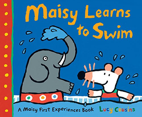 Today Maisy is going swimming for the first time, and she is a little nervous. Good thing Eddie and Tallulah are coming, too. Eddie is a natural, but Maisy and Tallulah get into the pool slowly ooh, it s freezing! But soon they are kicking and floating and even blowing bubbles with the rest. Whether water-shy or raring to go, young readers will find much to relate to as Maisy experiences another childhood first
