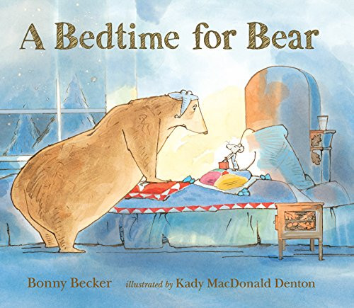 A small but effervescent overnight guest tries the patience of a curmudgeonly bear who needs absolute quiet to fall asleep.
