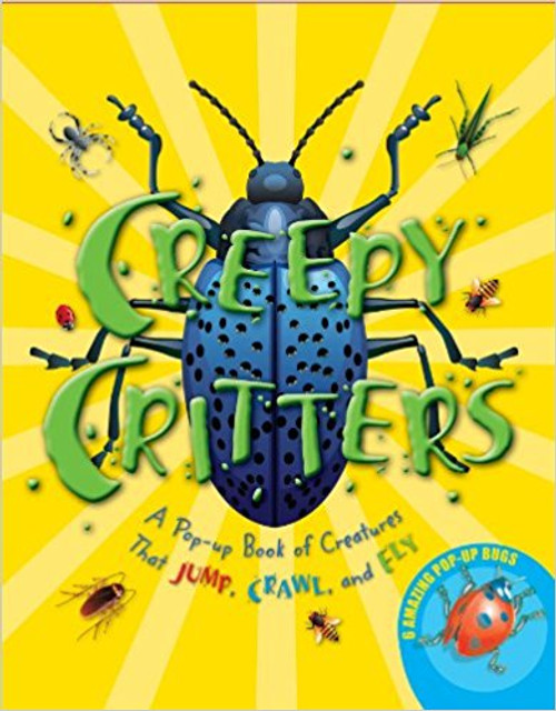 <p>With realistic illustrations and creepy fun facts about each bug, this colorful book will fascinate young readers as it brings six different bugs to life in 3-D. Readers will meet a hairy orange spider, a honeybee, a huge red cockroach, a blue beetle, a grasshopper, and a spotted ladybug.&nbsp;</p>