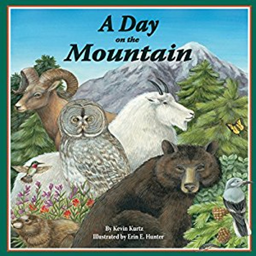 Come spend A Day on the Mountain, the follow up to Kevin Kurtz's award-winning first book, A Day in the Salt Marsh.  Rhyming verse and vibrant illustrations take readers up a mountain, from the forested bottom to the snow-covered top.  While climbing, they witness the changing habitats and meet the plants and animals that live there.  Learn about Black bears, Great Gray Owls, Garter snakes, Clark's nutcrackers, Bighorn sheep, Hummingbirds, Yellow-bellied marmots, Mountain goats, Salamanders, and Snow fleas.