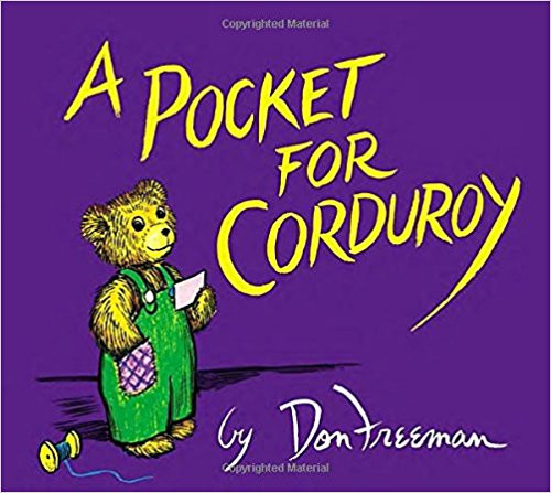 This irresistible childhood classic is a delightful sequel to the original, well-loved tale Corduroy. This charming story takes readers into a multi-ethnic, urban neighborhood Laundromat, where Lisa's mother warns her to take everything out of her pockets before washing. Pockets! Corduroy doesn't have any pockets! The furry bear's search for a pocket of his own takes him on an adventure filled with the sights, sounds, smells and hazards of the Laundromat. As a result, Lisa and her beloved bear become separated as Corduroy ends up locked inside the Laundromat all night. And what do bears do all night in places like this? They ski in the soap flakes and nap in the baskets, of course! Fortunately, Lisa returns early the next morning to reclaim her tired little friend. Soon, Lisa is sewing Corduroy a pocket of his very own and again all is well in the life of Corduroy.