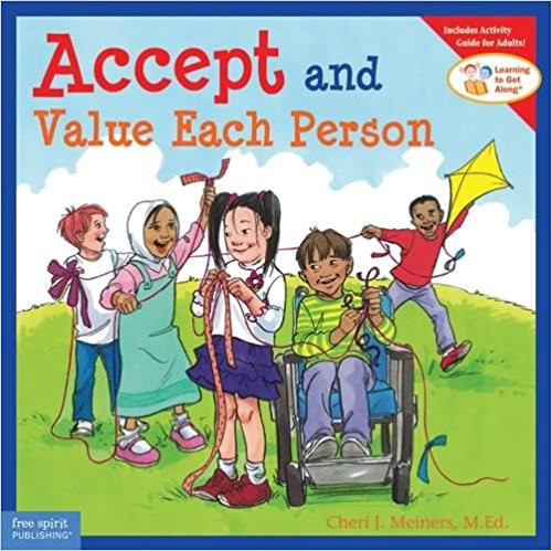 The world is becoming more diverse, and so are the daily lives of our children.  Accepting and valuing people and groups who are different from oneself and one's immediate family are critical social skills.  This book introduces diversity and related character education concepts: respecting differences, being inclusive, and appreciating people just the way they are. Includes questions, activities, and games that reinforce the ideas being taught.