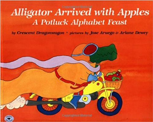 From Alligator's apples to Zebra's zucchini, a multitude of alphabetical animals and foods celebrate Thanksgiving with a grand feast.
