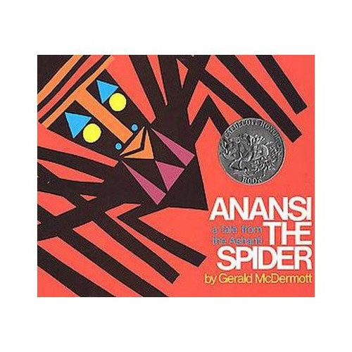 In this traditional tale from West Africa, Anansi, the Spider, sets out on a long journey. Threatened by Fish and Falcon, he is saved from terrible fates by his sons. But which of his six sons should he reward? The color, splendid design montage, and the authentic African language rhythms forge a new direction in picture books for children.