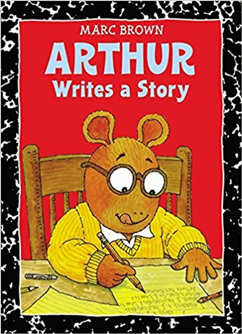 """The class homework assignment is to write a story, and everyone seems to be writing about something interesting...except Arthur. Will he find something he """"cares to write about or will his story be a big mess?"""