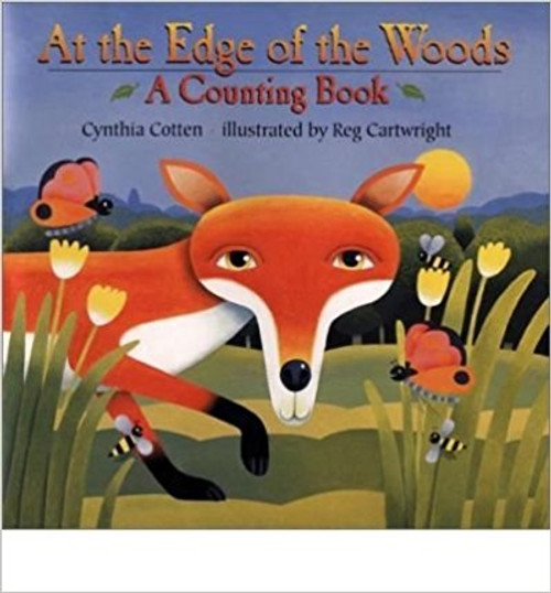 The chipmunk is not alone: two spotted fawns play in the grass, three furry foxes drink from the pond, and who is that coming out of the cave?  Children are invited to count up to ten and back again with the animals of the deep, dark woods. Full-color illustrations.