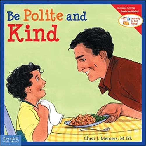 "When children are kind, courteous, and respectful, people enjoy being around them and reciprocate with the same behavior. Teach manners using this book that helps kids understand the importance of showing politeness, speaking kindly, using basic courtesies (""please,"" ""thank you,"" ""excuse me""), and respecting the feelings of others.   Scenarios and role-play activities help adults reinforce the book's lessons."