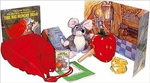 Now the reader can be even more involved in this popular story.  Scenery and puppets, along with the story and song CD, allow for creative retelling, whilst the game works at different ability levels to develop sequencing skills. Find out more about mice using the non-ficiton book. A Storysack® is a large cloth bag containing a quality child's picture book with supporting materials to stimulate reading activities. To bring the book to life, soft toys of the main characters, artefacts relating to items in the story, a non-fiction element relating to the fiction theme and a game based on the book are included.  A guide and prompt suggest ways of developing listening, reading and writing skills using the contents of the Storysack®.