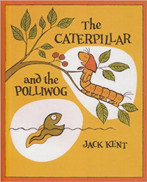 Impressed by the proud caterpillar's boast that she will turn into a butterfly when she grows up, a polliwog determines to watch the caterpillar very carefully and turn into a butterfly, too.
