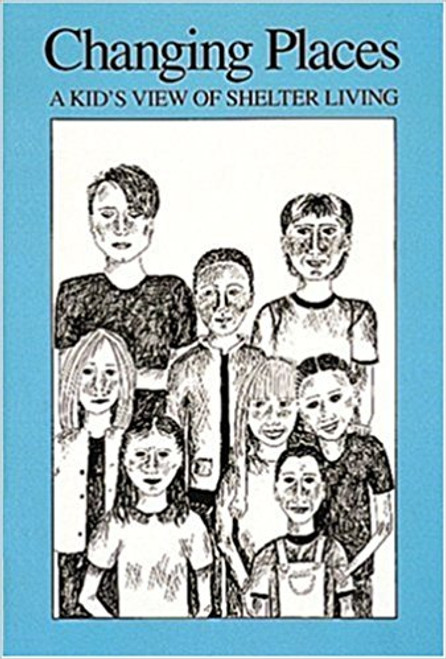 """The voices of eight homeless children, ages 6-13, are captured here with stunning illustrations that give you a poignant look at shelter life. Here's the voice of Roberto: """"Guess what! Mama and I stopped at this Mexican restaurant -- she talked the owner into a job! She's gonna cook enchiladas for pay – ALL RIGHT, MAMA!"""" Changing Places acquaints children with the issues of homelessness and poverty. It shows, too, how similar children are in their wants, needs, likes and dislikes, no matter what the circumstances."""