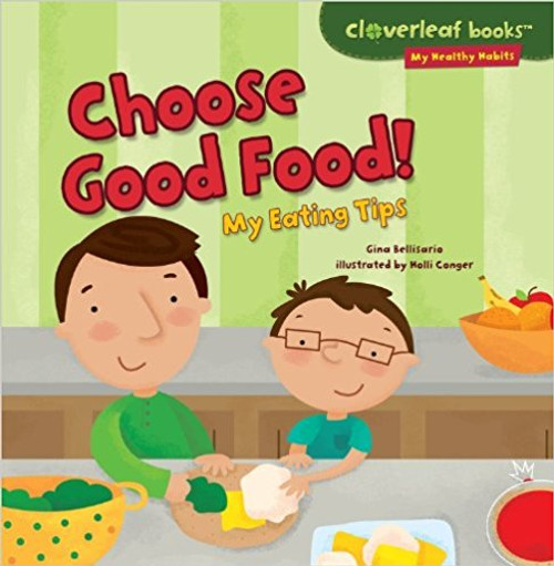 Lucas is a picky eater. But he's excited to go to the supermarket. Today, he gets to choose food for lunch. Lucas's dad helps him learn about the five food groups. Lucas finds out what foods are healthful. And he prepares a tasty snack!