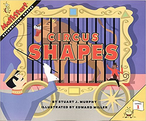 Come one, come all to the circus and learn about shapes. Dancing bears, amusing monkeys, grand elephants, and elegant horses introduce squares, rectangles, circles, and triangles to readers. Full color.