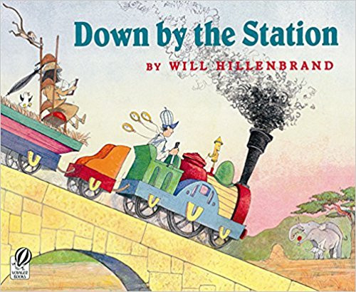 Join Hillenbrand's group of mischievous, playful, and sleepy baby animals on their way to the children's zoo. Better hurry, though . . . they can't be late to greet the first busload of children! Full color.