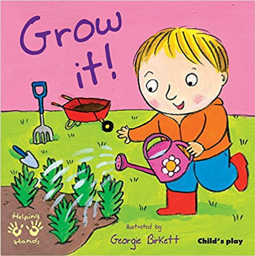 Which plants shall we grow? Where should we plant them? And how do we care for them? Helping with real tasks is a natural progression from pretend play, and is a crucial stage in a child's development. Achieving a shared goal encourages a sense of responsibility, and develops many skills useful in later life. Simple conversational text and lively illustrations are carefully designed to encourage further dialogue between reader and child.