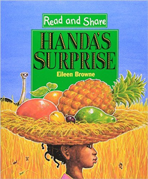 For use in schools and libraries only. When Handa, who lives in a Kenyan village, sets out to visit her friend in the next village with a basketful of tropical fruits on her head, the animals she passes on the way take advantage of the opportunity.