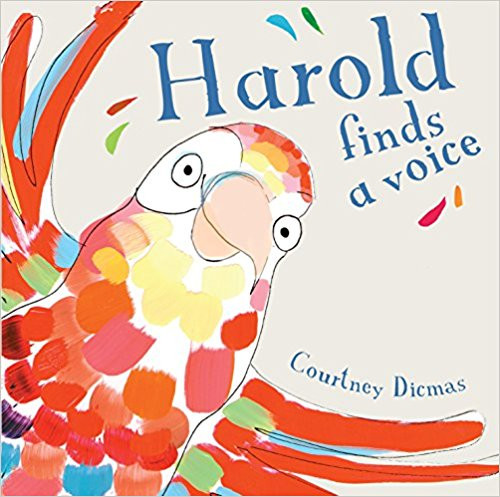 Harold is an amazing mimic, and can imitate the sound of everything in his home. Tired of repeating the same old noises, he yearns to find out what other voices there are in the big, wide world. But what happens when he suddenly realises that he doesn't yet have a voice of his own? This fantastic debut by author/illustrator Courtney Dicmas recounts Harold's hilarious tale. It's full of colour, humour and invention, and children will love to join in with Harold as he mimics everyday noises.