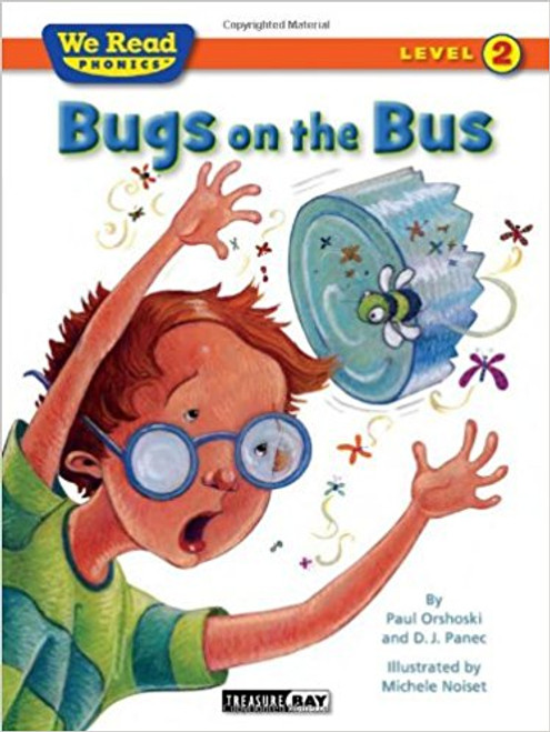 Jack is bringing a jar of bugs to school. Unfortunately, the jar breaks on the bus and all the bugs escape! The result is a very wild ride in this story filled with lots of humor and lots of flying bugs!