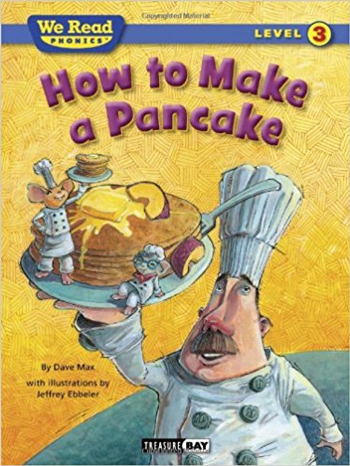 Join a wild chef and two mice as they show how simple it is to make a big stack of delicious pancakes