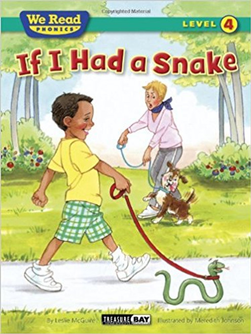 Bruce wants a snake. A nice green snake. A snake would be so much fun! Bruce thinks about all the things he would do with his snake. He would make a big cage for the snake, feed him ice cream, and take him to class. There is just one little problem: will his mom let him get a snake?