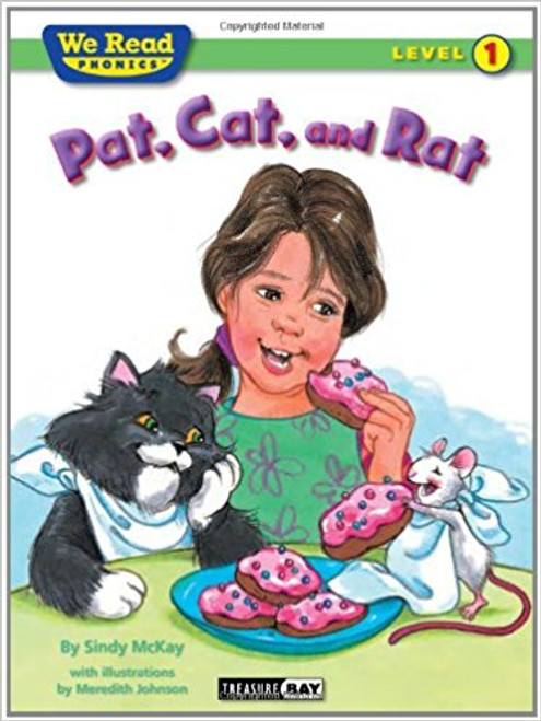 Cat wants to catch Rat and make him a snack, but Pat wants to stop it.