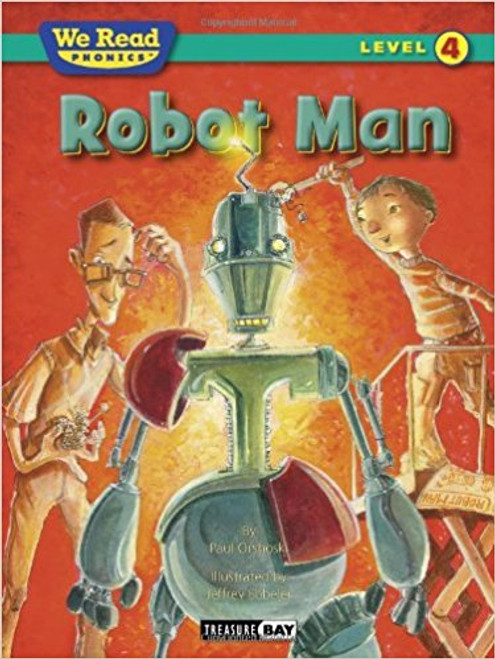 A boy and his dad build a robot man and their life is great The robot does all their chores. It even makes them ice cream treats. Their robot does everything for them But then, robot man falls off the roof and everything goes wrong.