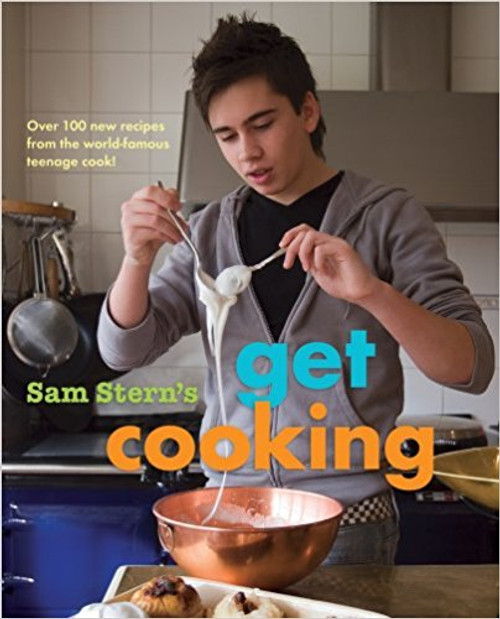 Teen chef Stern returns with a third cookbook full of more than 100 fun, healthy recipes focusing on tomatoes, cheese, pasta, and even chocolate. Full color.