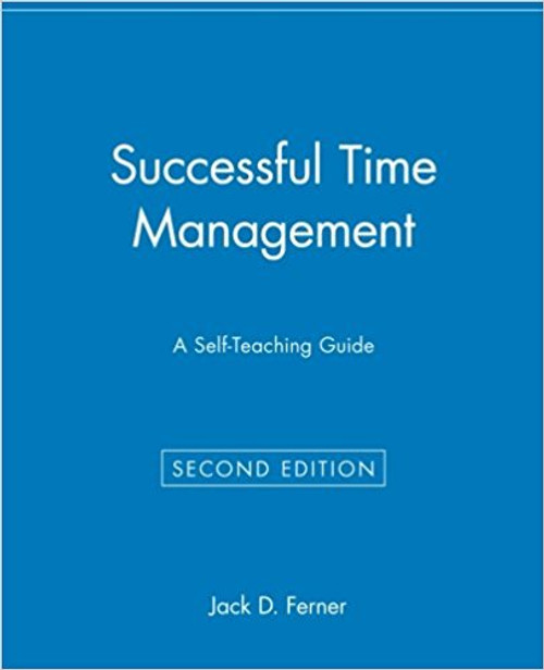 A proven action plan for enhancing your most precious resource--time Do you feel bogged down by paperwork, routine chores, and interruptions? Have you told yourself that if you only had more time you could accomplish more in your professional and personal life? This practical guide shows you how to manage your time most efficiently and effectively. Revised and expanded to include the latest strategies and equipment, Successful Time Management, Second Edition, helps you develop and enact an action plan to get more done at work and at home.