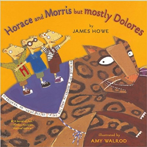 Horace, Morris, and Dolores are inseparable friends...until they're persuaded to join separate boys-and girls-only clubs. Howe's spirited, pun-filled text and Walrod's lively collage art create a gender-bending romp with a message that never overwhelms the sheer fun of the story.