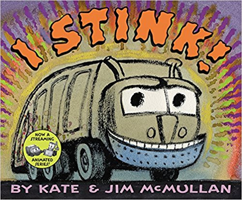 """Named a best children's book of the year by """"Publishers Weekly"""" and """"Parenting"""" magazine, this acclaimed book about a garbage truck with the baddest attitude and the sharpest nose for the smelliest trash is now in a board book format. Full color."""