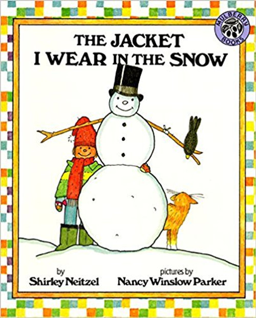 Nothing is more frustrating for children than putting on--and taking off--layer after layer of winter clothing. Nothing is more fun for preschoolers and those just learning to read than enjoying that dreaded experience through a spirited, cumulative rhyme, embellished and extended with rebuses. Full color.