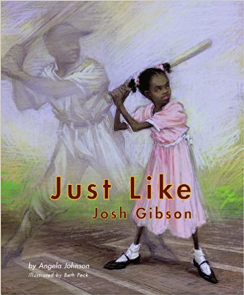 The story goes... Grandmama could hit the ball a mile, catch anything that was thrown, and do everything else -- just like Josh Gibson. But unfortunately, no matter how well a girl growing up in the 1940s played the game of baseball, she would have faced tremendous challenges.  These challenges are not unlike those met by the legendary Josh Gibson, arguably the best Negro-League player to never make it into the majors. In a poignant tribute to anyone who's had a dream deferred, two-time Coretta Scott King Award-winning author Angela Johnson and celebrated artist Beth Peck offer up this reminder -- that the small steps made by each of us inspire us all.