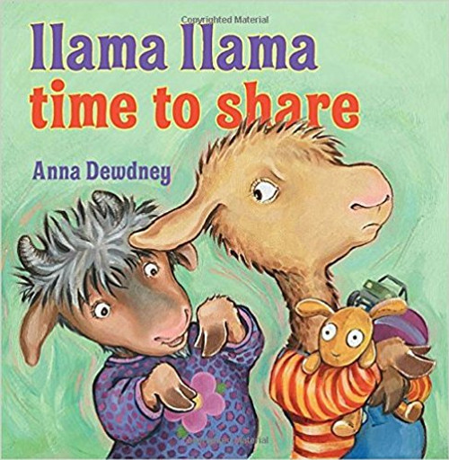Llama Llama doesn't want to share his toys with his new neighbors.  But, when fighting leads to broken toys and tears, Llama learns that it's better to share.