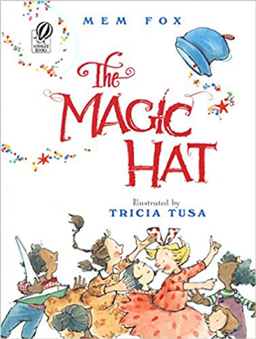 One day, without warning, a magic hat drops into town from the sky, delighting the townspeople who, one by one, are transformed into giant playful animals by the hat's magic. Then a wizard arrives looking for his hat. With whimsical full-color illustrations and rhyming language, this book makes an ideal read-along.