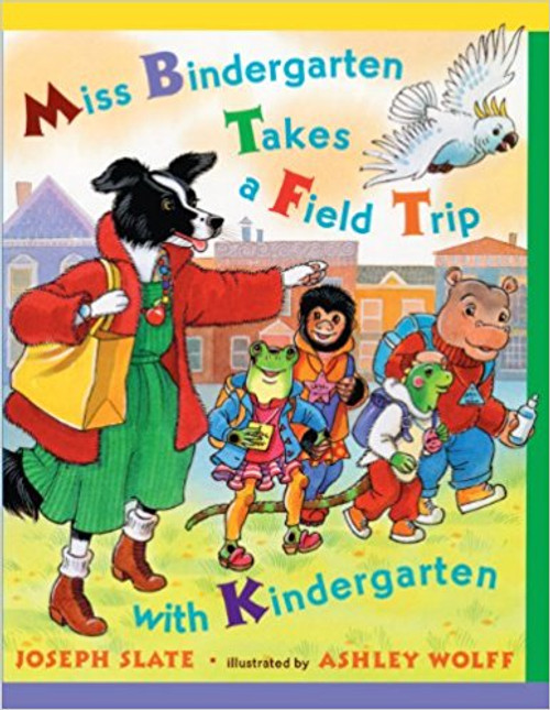 Introduces the letters of the alphabet as Miss Bindergarten and her students visit interesting places around town.
