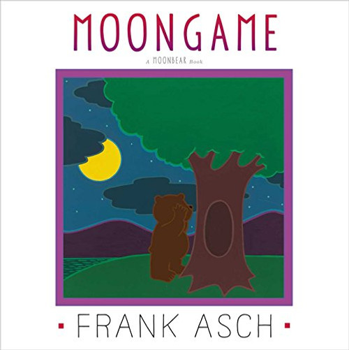 One night Moonbear decides to play hide-and-seek with the moon.  When it's Moonbear's turn to hide, the moon finds him every time.  But when the moon ducks behind a cloud and doesn't come out, Moonbear gets worried.  Is the moon lost forever?