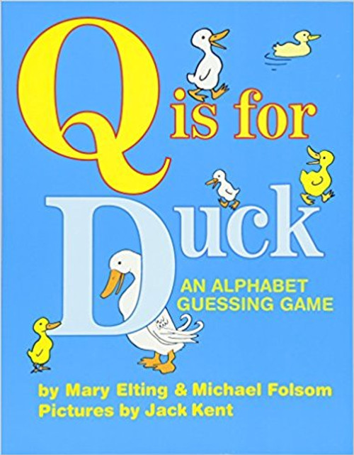 This contemporary classic, celebrating its twenty-fifth year in print, is no ordinary alphabet book. Why is Q for Duck ? Because a duck quacks, of course. Even the youngest readers will delight in the riddle-like text and lively, humorous illustrations. Now in vivid full color for the first time, this interactive treat is sure to be enjoyed by a whole new generation of readers.""